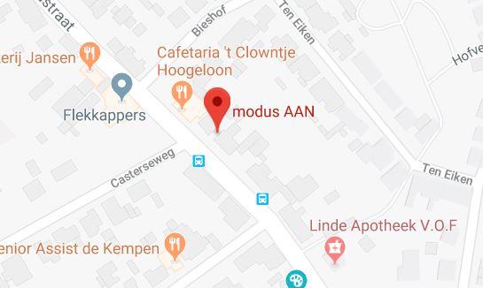 Locatie modus AAN, onderwijsbureau